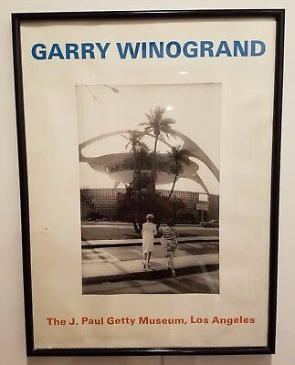 Original Vintage 1997 GARRY WINOGRAND Poster Featuring 1964 Photograph of LAX