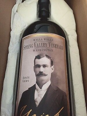 NEW Spring Valley Uriah Dummy Wine Bottle Display Empty 5 Litre