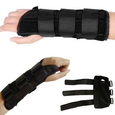 Breathable Carpel Tunnel Wrist Support Splint Brace for Injury Pain-Right/Left Q
