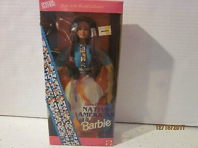Native American Barbie 2Nd Edition Dolls Of The World Collection Mattel 11609