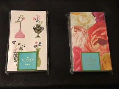 BRAND NEW Bundle - 2 Kate Spade NY Small Notepads 125 Sheets Each