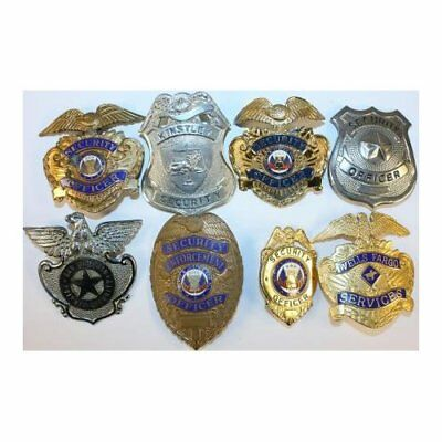 Defunct/Obsolete Security Badge Lot
