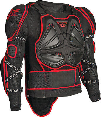 Fly Racing Barricade Body Armor Suit Black 360-9801M Md