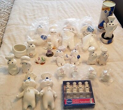 Pillsbury Doughboy Collectibles NEW and Pre-owned! HTF :)