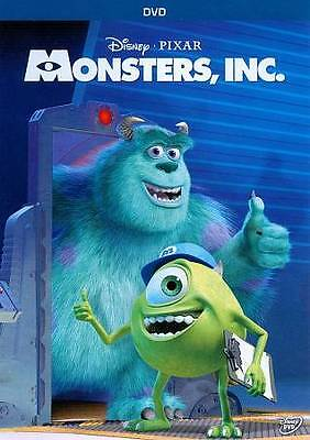 Monsters, Inc. (DVD, 2013) NEW & SEALED * Free S&H * Disney - Pixar