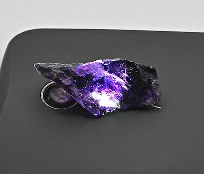 45 Ct Natural  Purple Amethyst Untreated Rough Specimen Stone