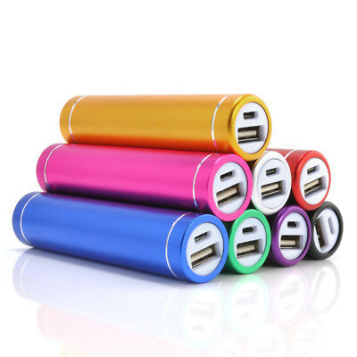 Mini Portable External Power Bank Battery Charger 2600mAh For iPhone Samsung