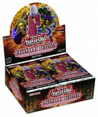 Yu-Gi-Oh! Legendary Duelists: Ancient Millennium Booster Display