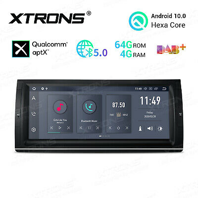 "9"" Android 8.0 Car Stereo GPS Radio Sat Nav No-DVD 4G RAM for BMW X5 E53 5 E39"