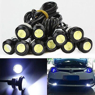 10X 12V 10W Auto KFZ LED Eagle Eye Beleuchtung Licht Lampen TagfahrlichtHOT PAL