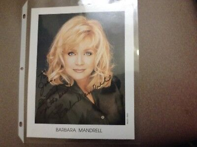 Signed Barbara Mantrell 8x10 Color Photo
