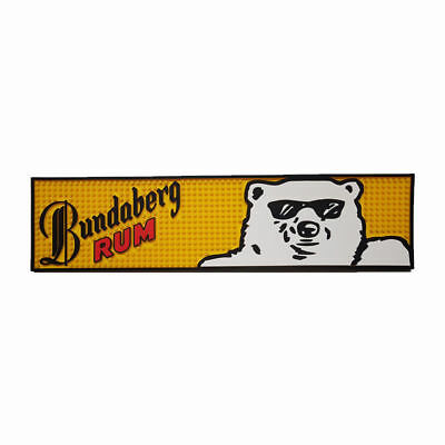 Bundaberg Rum Bundy Bear pvc rubber bar mat runner barmat Pickup Available