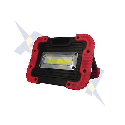 Durite 0-541-35 Super Bright Rechargeable LED 10W COB Work or Inspection Lamp
