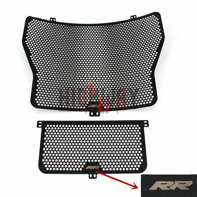 Radiator Grille Grill Cover Protect Guard For BMW S1000RR S1000R HP4 2009-2016