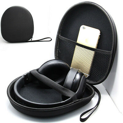 Hard Carrying Headphone Case Zippered Storage Bag Pouch For Sony MDR-XB950BT/AP