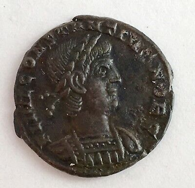 Authentic 306 AD Constantine The Great Imperial Roman Empire Bronze Ancient Coin