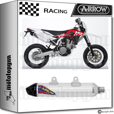 Arrow Exhaust Thunder Off-Road V2 Carby Cup Race Husqvarna Sm 450 2004 04