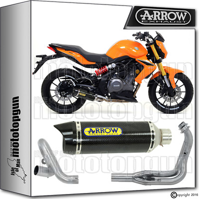 Arrow Full System Thunder Carbon Carby Cup Hom Benelli Bn 302 2014 14 2015 15