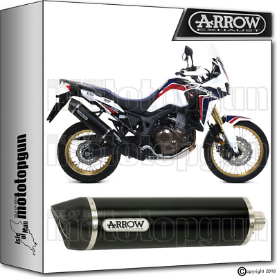 Arrow Exhaust Maxi Racetech Dark Cc Hom Honda Crf 1000 L Africa-Twin 2016 16