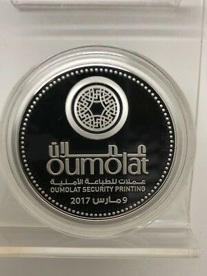 UAE United Arab Emirates 2018 Silver Coin Commemorative 50 Dirhams OUMOLAT