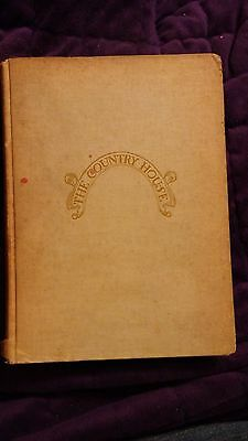 The Country House 1913 CE Hooper Manual of Planning and Construction HC Rare