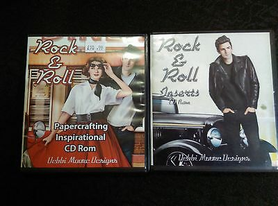 Debbi Moore Rock & Roll Papercrafting Inspirational and Inserts CD-Roms