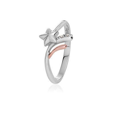 BRAND NEW Official Welsh Clogau Make a Wish Ring RRP £129 SIZE M