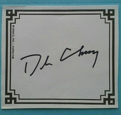 Dick Cheney Former Vice President signed bookplate