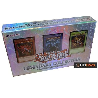 YuGiOh Legendary Collection 1 Gameboard Edition Sealed Box LC01 Inc God Cards