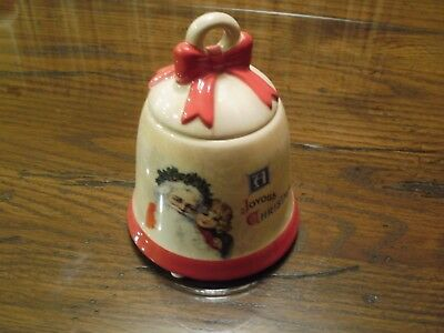 Yankee Candle Holiday Joyous Christmas Past Bell Votive Or Tealight Holder