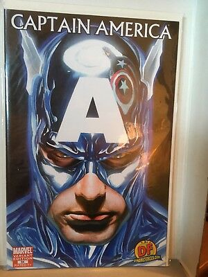 Captain America #34, 2008, Dynamic Forces DF Variant Alex Ross Cover