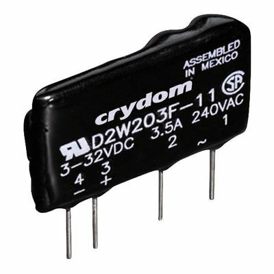 10 x Crydom Solid State Relay 3-32VDC Trigger D2W202F ZVS NEW 2A 240V AC Load