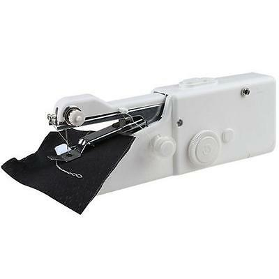 Portable Household Hand Stitch Electric Mini Handheld Sewing Machine Cordless FT