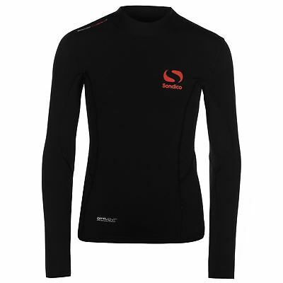 Sondico Kids Baselayer Thermal Top Compression Armor Skins Long Sleeve High Neck