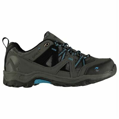 Gelert Kids Ottawa Low Junior Walking Lace Up Leather Padded Ankle Collar Shoes