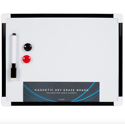 New A4 Mini White Board Wipe Board Magnetic With Dry Wipe Pen And Eraser