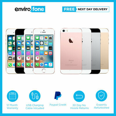 Apple iPhone SE 16GB 32GB 64GB 128GB All Colours Unlocked SIM Free Smartphone