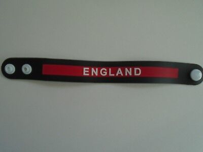 England Wristband Rubber World Cup Supporter Football Rugby Sports New