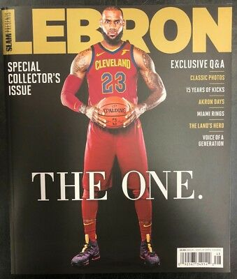 Lebron James Slam Special Collector's Issue The One Nba Basketball