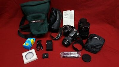 Sony Alpha SLT-A58 20.4MP Digital SLR Camera - Black (Kit w/ DT SAM II 18-55mm L