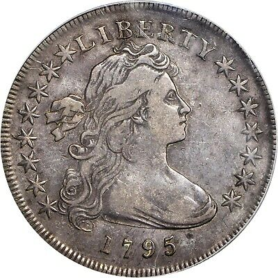 1795 $1 Off Center Draped Bust Silver Dollar PCGS VF 30 Original and Choice