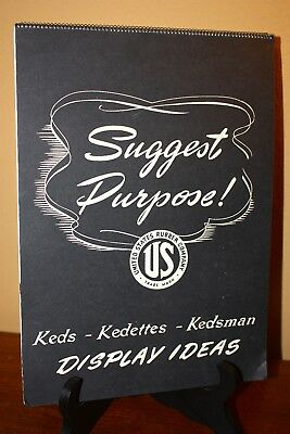 1940 KEDS Dealer Catalog Store Display Letter Kedettes Advertising Kedsmen Shoe