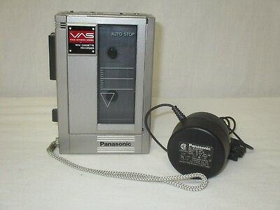 Vintage Working Panasonic RQ-360 Mini Cassette Recorder With Power Cord