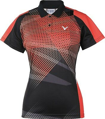 SONDERPREIS! VICTOR Polo Shirt Malaysia Female orange 6186 Badminton Tennis