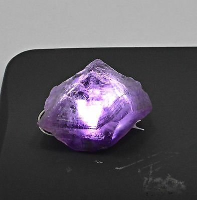 105 Ct Natural Transparent Purple Amethyst Untreated Rough Specimen Stone