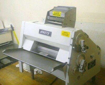 Anets SDR21 Double Pass Dough Roller - Countertop, Pizza, Bakery