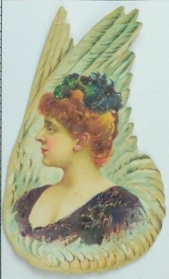 Gail & Ax Navy Long Cut Smoking/Chewing Tobacco Feathers Lovely Lady P72