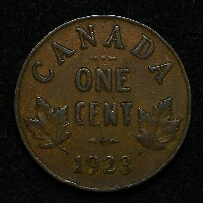 1923 Canada One Cent Key Date (bb503)