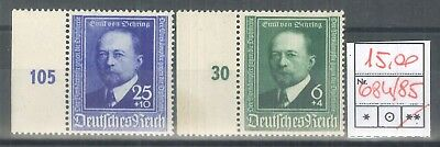 GERMANIA REICH 1940 - ** (catalogo n.° 684/685) (1366)