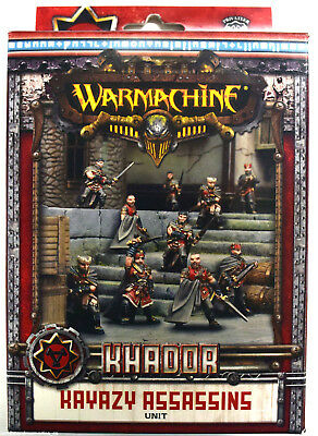Warmachine Khador Kayazy Assassins Unit PIP 33098